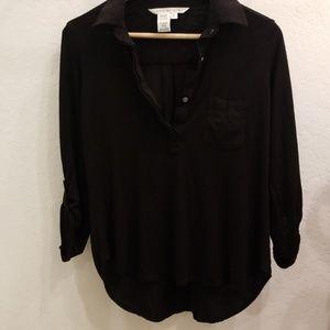 Max Studio black blouse size small